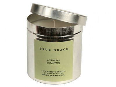 True Grace Candle Rosemary & Eucalyptus