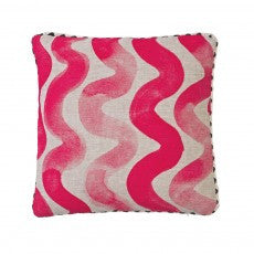 Cushion - Big Waves Pink 40cm