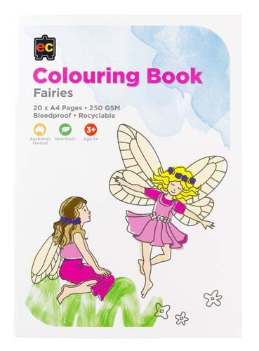 Educational Colours - Fairies Colouring Book