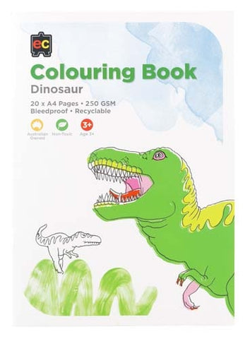 Educational Colours - Dinosaur Colouring Book