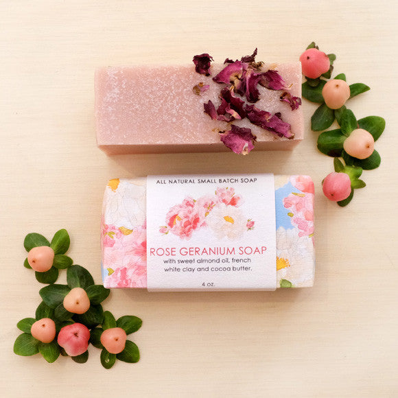 Dawn Tan ROSE GERANIUM SOAP