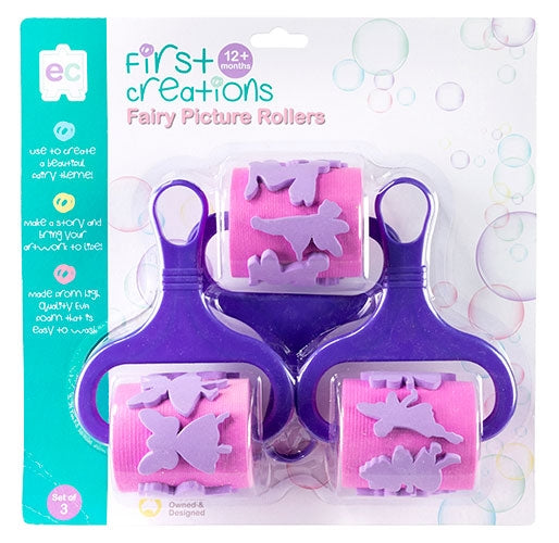 First Creations - Picture Rollers - Fairy Picture Rollers Set of 3
