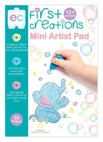 First Creations - Paper  - Mini Artist Pad