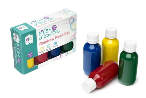 First Creations - Rainbow Paint Set