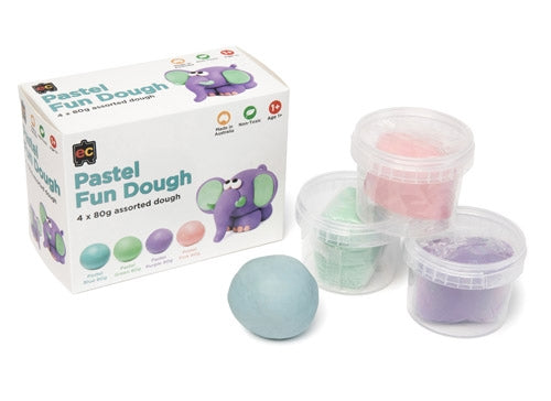 Educational Colours Pastel Fun Dough Set