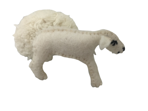 Mini Baa Baa Felt Sheep