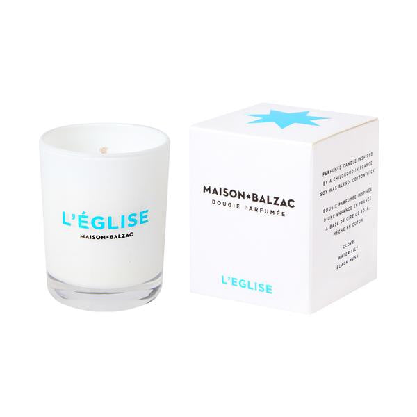 Maison Balzac Mini Eglise Candle