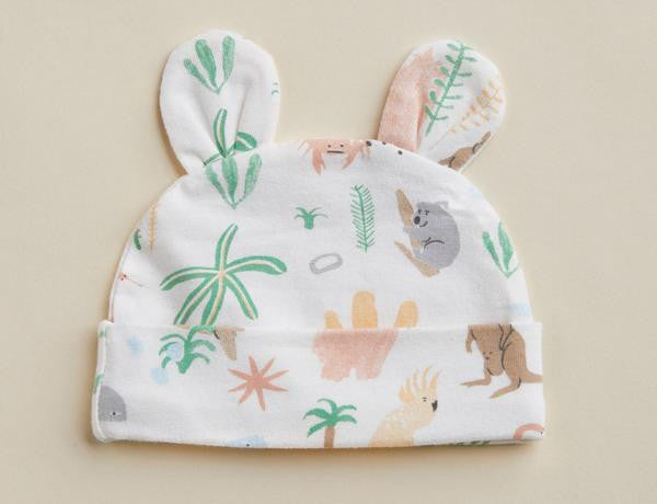 Outback Dreamers Print Baby Hat