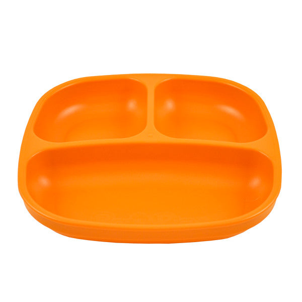 Re-Play Divided Plate - Orange