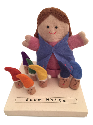 Snow White Puppet