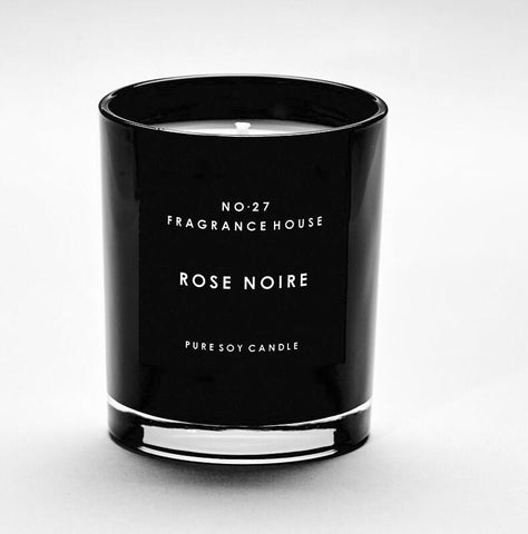 No 27 Fragrance House Rose Noire Candle