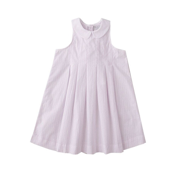 Peggy Florence Dress Pink Cross