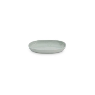 Pale Blue Oval Plate , Cloud S