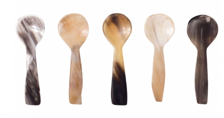 Horn Salt Spoon