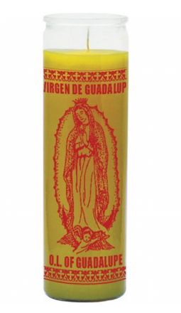 W PICO Candle - Guadalupe