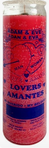 W PICO Candle - Lovers Amantes