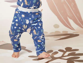 Midnight Outback Dreamers Print Baby Pants