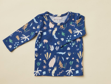 Midnight Outback Dreamers Print Top