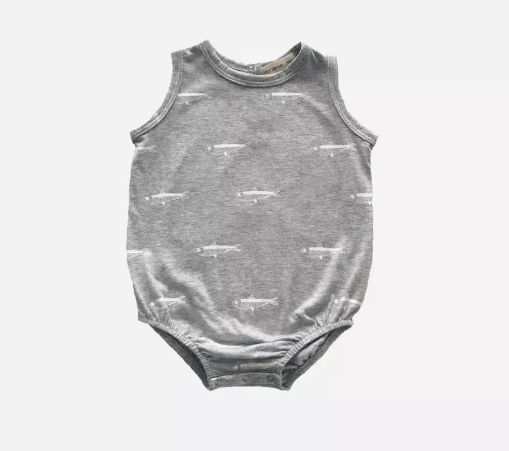 Sardine Onesie Sleeveless