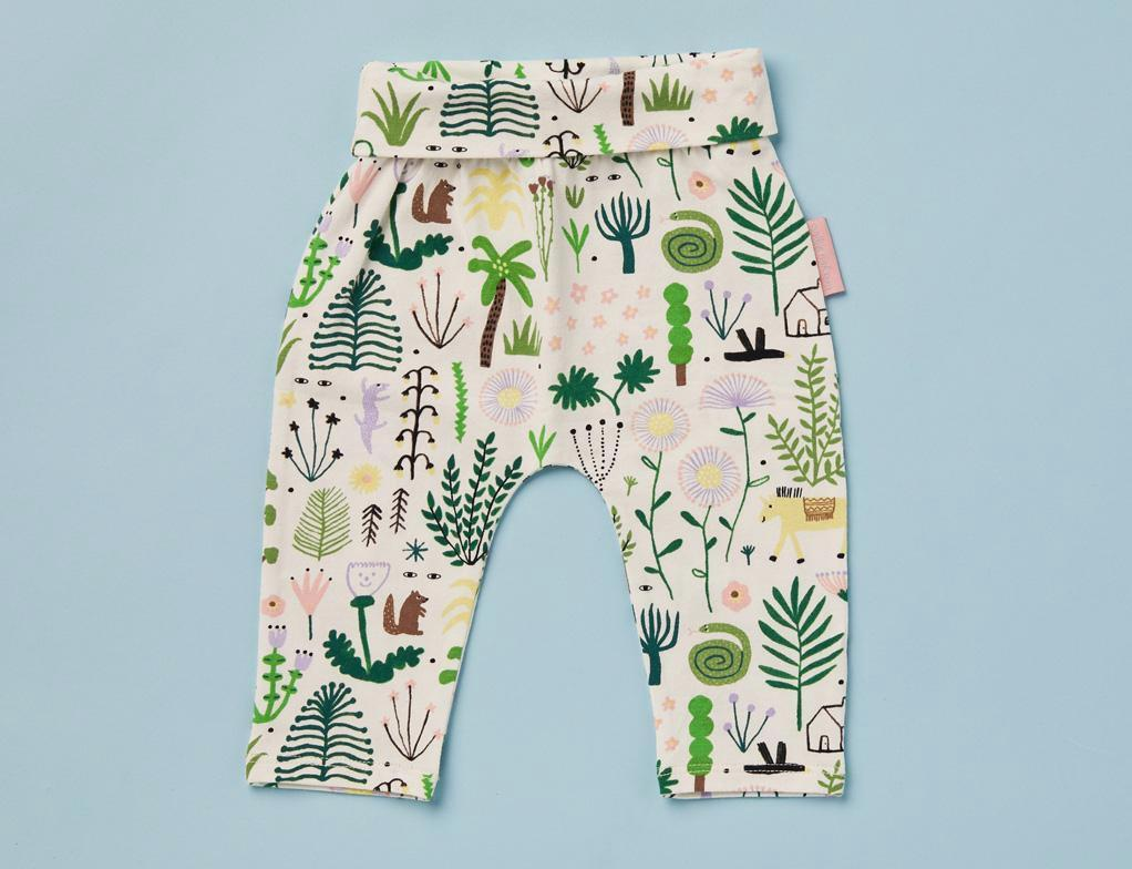 Secret Garden Print - Baby Yoga Leggings