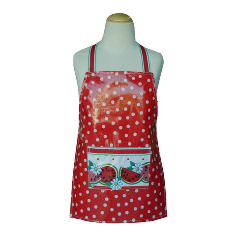 Little Kids Apron - Red Spots