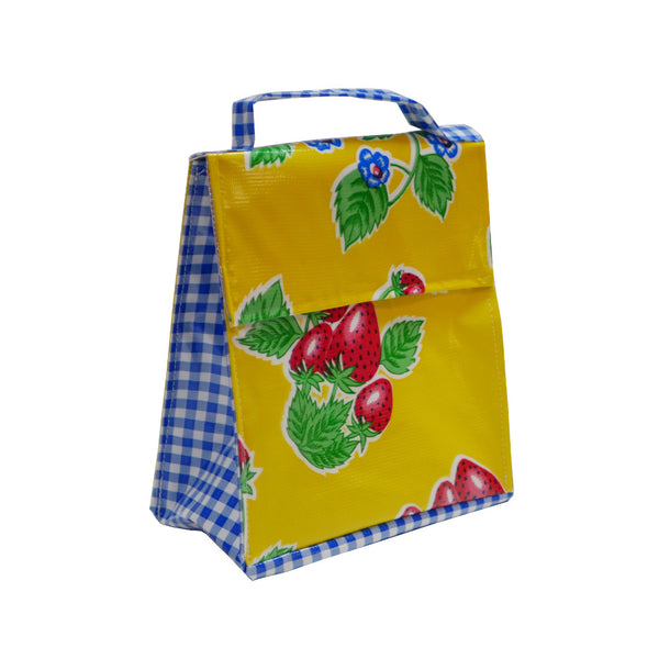 Insulated Lunchbag- Strawberry Yellow
