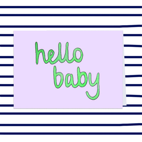 Gift Card - Hello Baby
