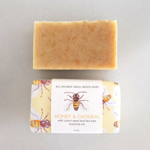 Dawn Tan HONEY AND OATMEAL SOAP