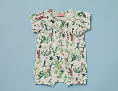 Fern Gully Summer Sleep Suit