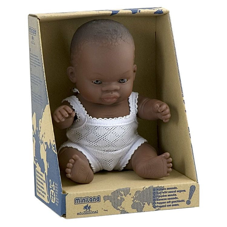 Mini Lands Mini Doll African Girl