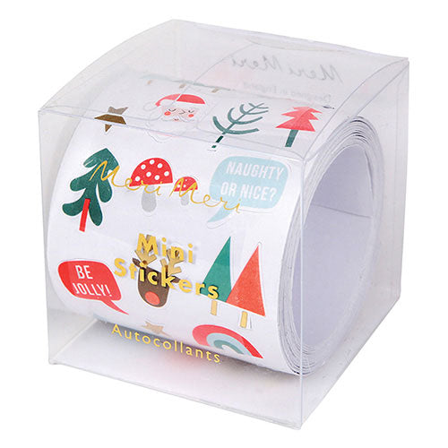 Sticker Roll Xmas Icons
