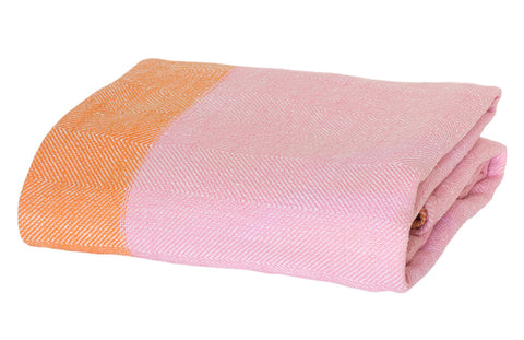 Castle Pink Blanky Throw