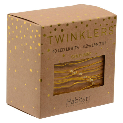 Twinkle Lights Gold