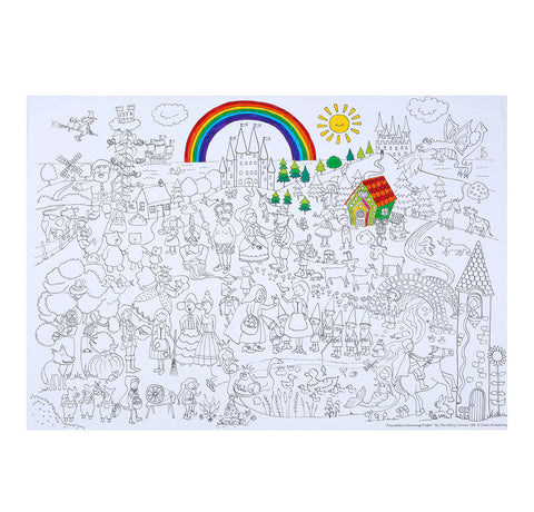 FAIRYTALES COLOURING POSTER