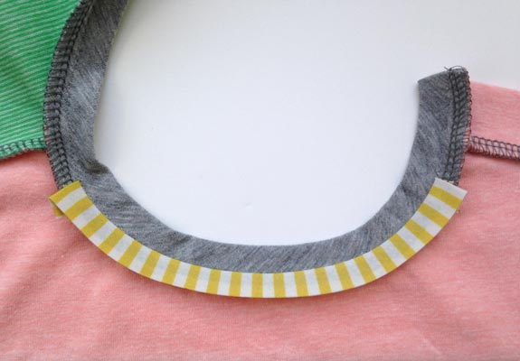 Inside Neck Tape Tutorial