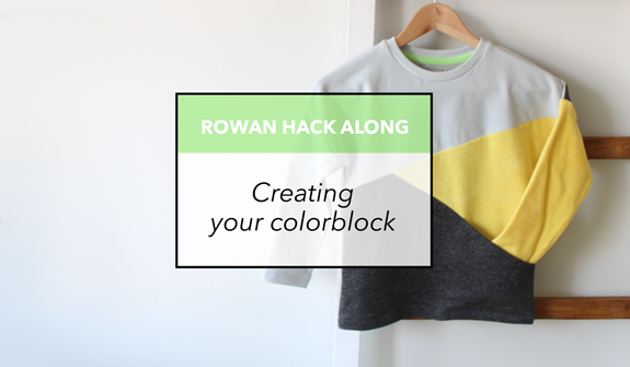 Rowan Hack Along - Creating your colorblock
