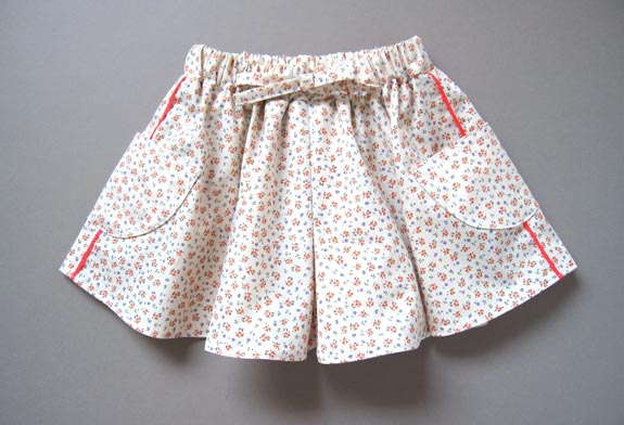 Draw your own culotte pattern for kids and grown ups