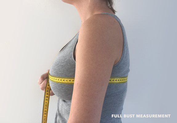full bust measurement