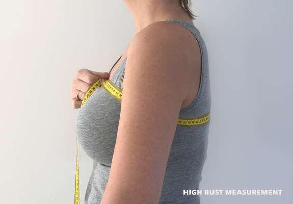 high bust measurement