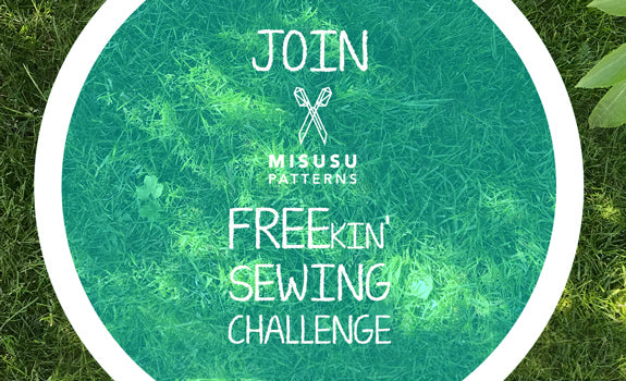 Misusu Pattern FREEkin' Sewing Challenge