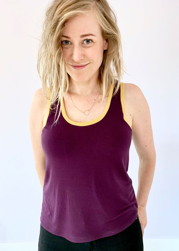 Geo Tank Top PDF Sewing Pattern