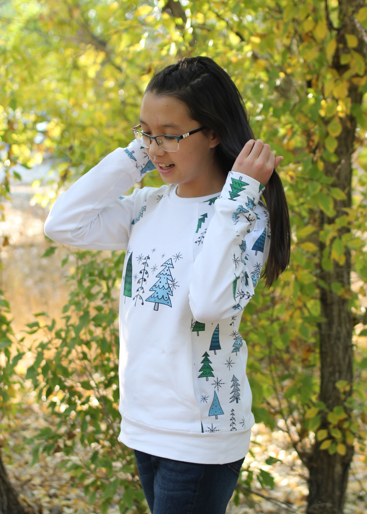 BUNDLE - Flex Raglan Sweater & Switch Crew Sweater & Shuffle Add On PDF Sewing Pattern Bundle