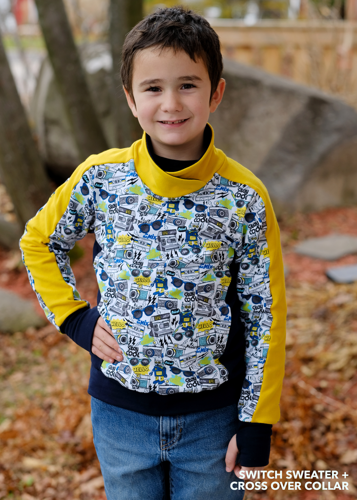 Switch Crew Sweater PDF Sewing Pattern