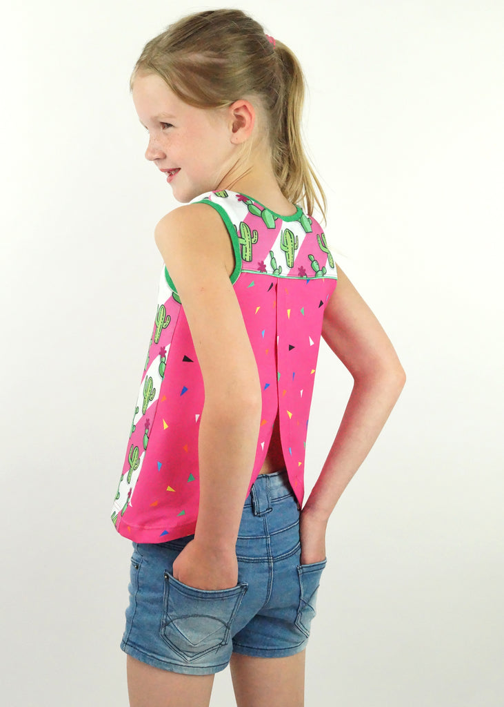 Piper Tank Top PDF Sewing Pattern