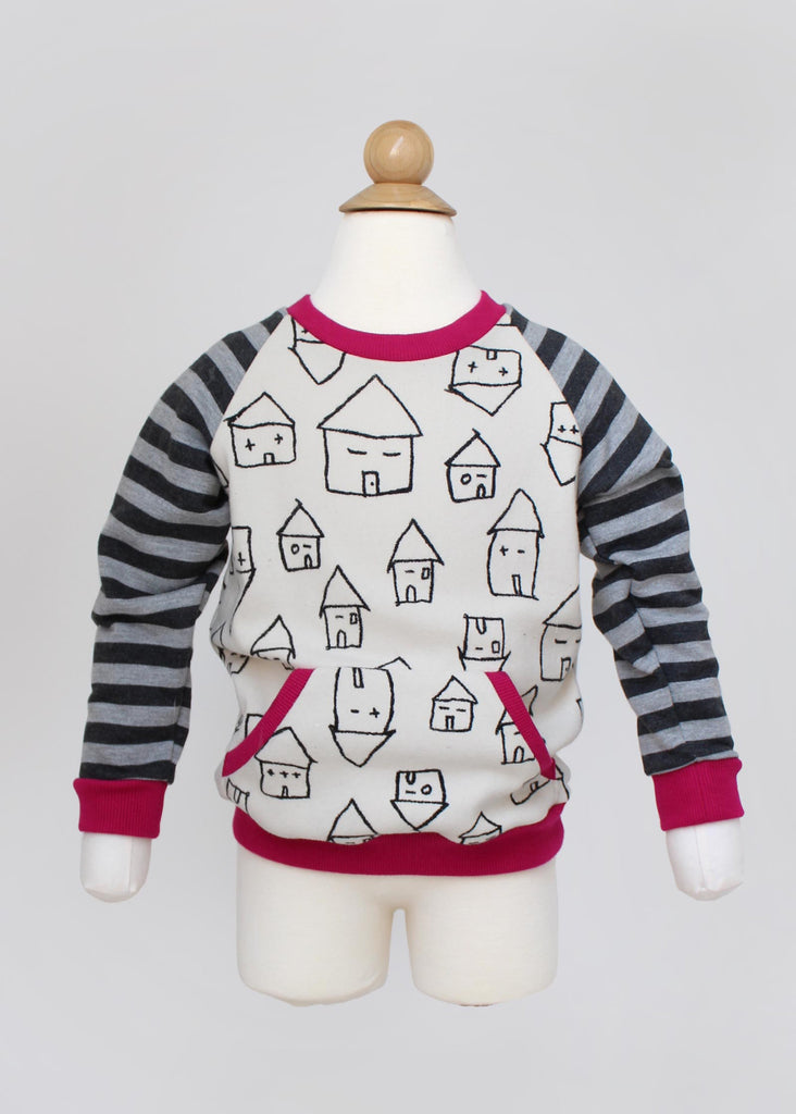 Raglan Sweater PDF Sewing Pattern
