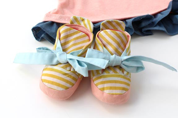 Baby Booties PDF Sewing Pattern