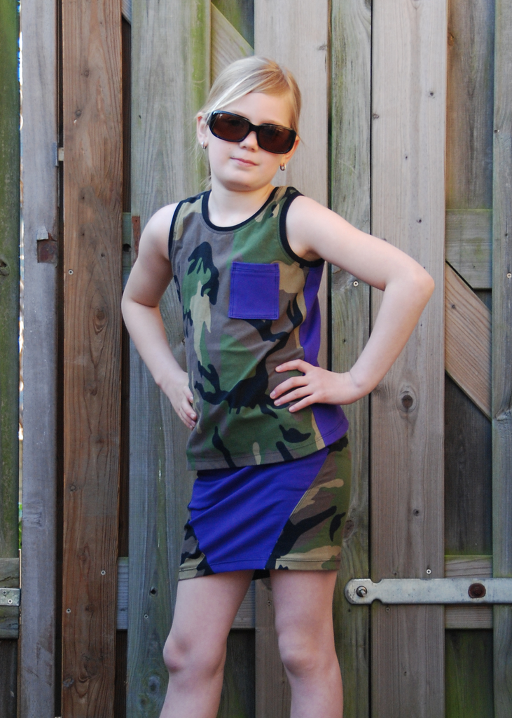 BUNDLE - Doris Skirt & Piper Tank Top PDF Sewing Pattern Bundle
