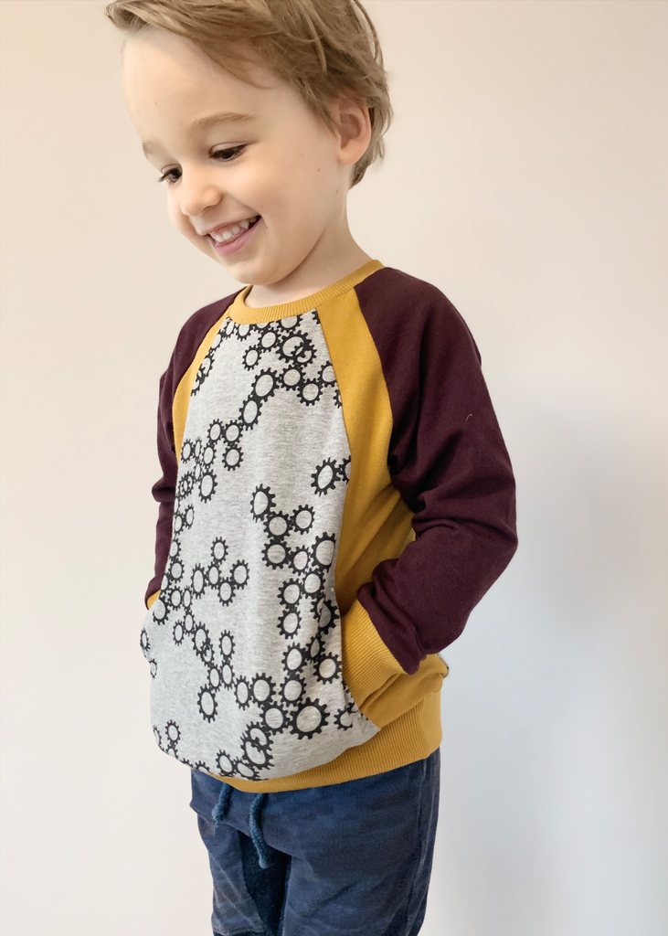 Flex Raglan Sweater PDF Sewing Pattern