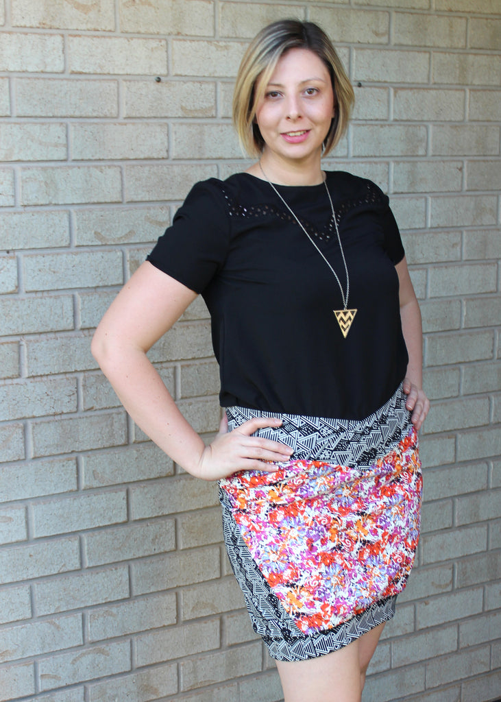 Doris Skirt Adult PDF Sewing Pattern