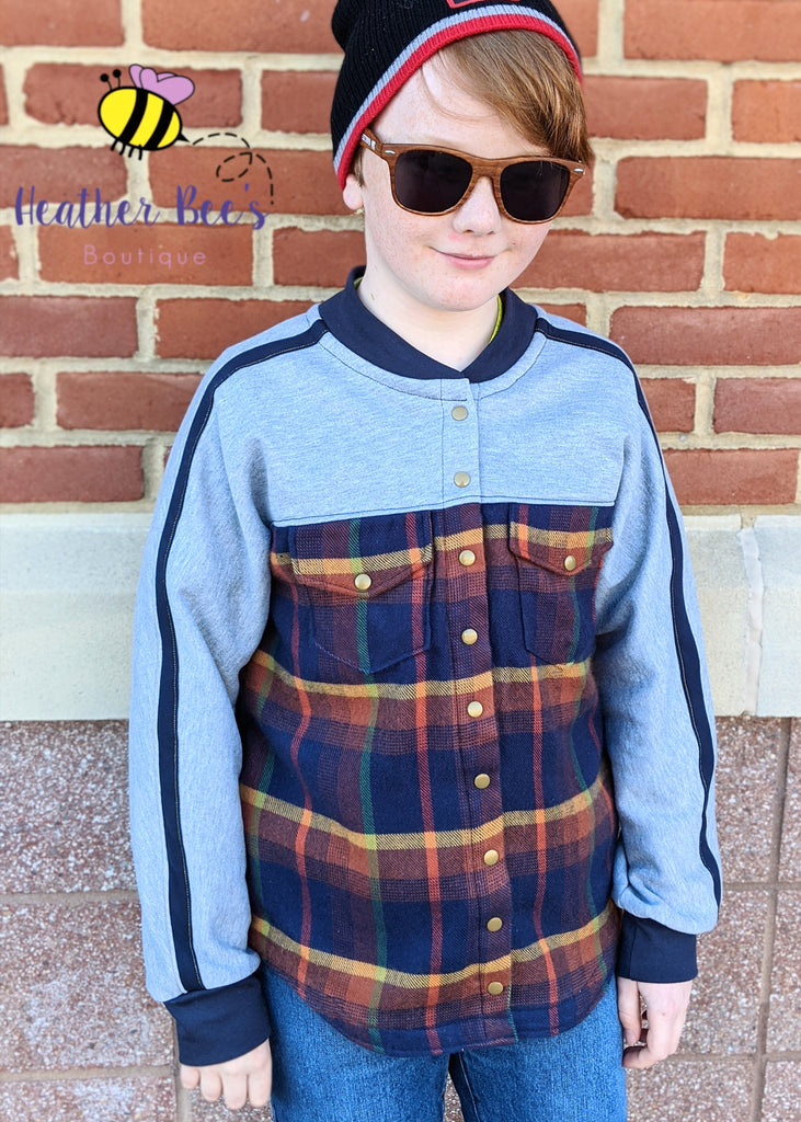 Bing Shirtigan PDF Sewing Pattern